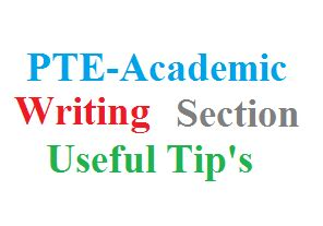 Essay writing pte examples